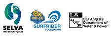SELVA, Surfrider & LADWP logo