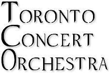 Toronto Concert Orchestra - Kerry Stratton, conductor logo