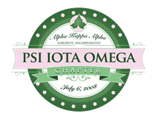 Psi Iota Omega Chapter of Alpha Kappa Alpha Sorority, Inc. logo