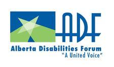 Alberta Disabilities Forum (ADF) logo