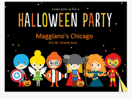 Maggiano's Little Italy- Kids Halloween Party
