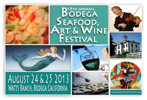 19th annual Bodega Seafood, Art & Wine Festival