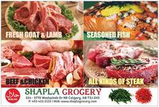 SHAPLA GROCERY & HALAL MEAT logo