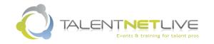TalentNet Live Dallas Fall 2013
