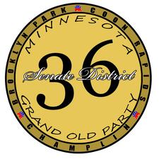 SD36 GOP logo