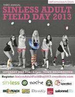 Sinless Adult Field Day 2013