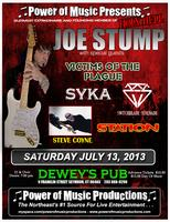 Guitarist Extrodinair: JOE STUMP with special guests