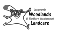 Langwarrin Woodlands and Northern Westernport Landcare logo
