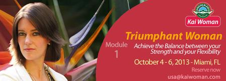 Triumphant Woman Workshop: Kai Woman Module 1