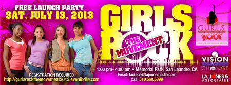 Free Launch Party by G.U.R.L.S. Rock Global Leadership...