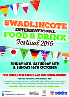 Swadlincote, International Food & Drink Festival 2016