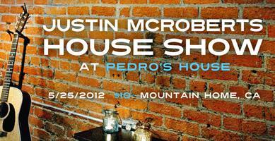 "Justin McRoberts CMY(K) ""Pedro's House"" Concert"