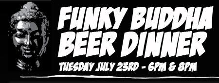 Funky Buddha Beer Dinner @ Kapow