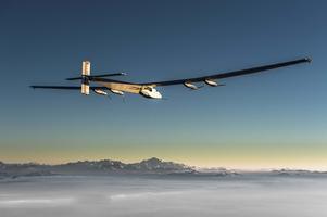 Solar Impulse Visit at Kalaeloa Airport - April 2, 2016