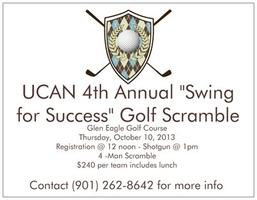 """Swing for Success"" UCAN 4th Annual 4-Man Golf Scramble"