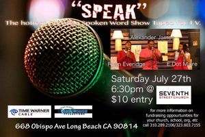 "Live Taping of ""SPEAK!"""