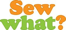Sew what? Sewing classes & alterations logo