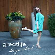 "Sherrice Kirby & ""greatlife designs"" logo"
