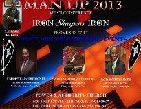 Man Up 2013 Men's Conference - Iron Sharpens Iron
