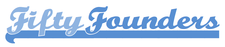 Fifty Founders logo