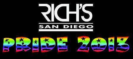 Rich's Pride 2013 VIP Weekend Pass