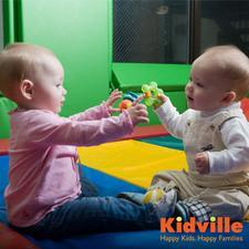 Kidville Fallsgrove logo