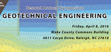 Second Annual Symposium - GEOTECHNICAL ENGINEERING  logo