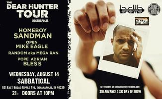 Homeboy Sandman Tour w/ Open Mike Eagle, Mega Ran,...