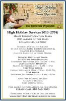 Elite Entrepreneur Organization/IAJCO High Holiday...