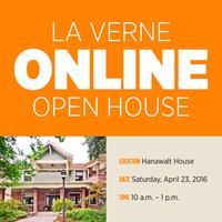 La Verne Online Open House - Spring 2016