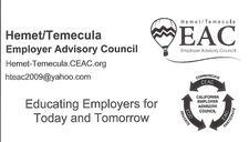 Hemet/Temecula Employer Advisory Council logo