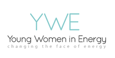 Young Women in Energy (YWE) logo