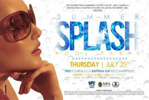 Summer Splash: Pool Party with the Tau Delta Alphas