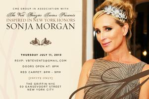 INSPIRED IN NEW YORK HONORS SONJA MORGAN