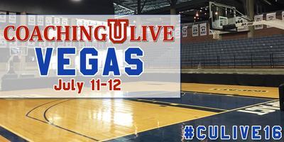 Coaching U LIVE 2016 Las Vegas: July 11-12