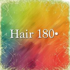 Hair 180°  logo