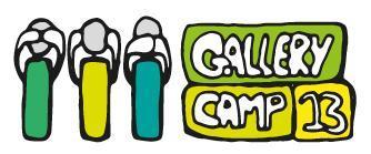 Gallerycamp 2013