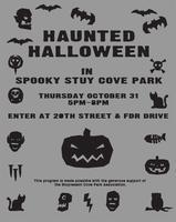 Haunted Hallowe'en in Stuy Cove Park