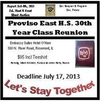 Proviso East Class of 1983 - 30th Year Reunion
