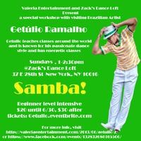Samba with Getulio!