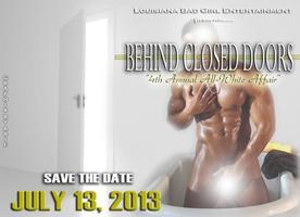 """BEHIND CLOSED DOORS"" 4TH ANNUAL ALL-WHITE AFFAIR"