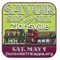 Tri Kappa's Savor, Sip & See Zionsville 2016