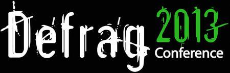 Defrag Conference 2013