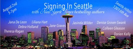 Signing in Seattle