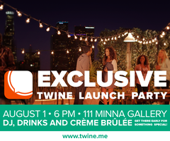 Twine Launch Party - Never Miss an Interesting Stranger