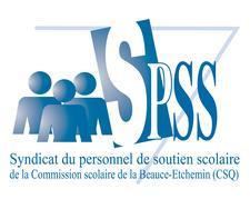 Syndicat du personnel de soutien scolaire de la CSBE logo