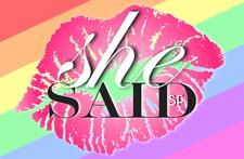 SHE SAID SF logo