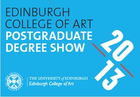ECA Postgraduate Degree Show Invite