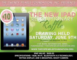 "Ipad 3 ""Resolutionary"" Raffle"