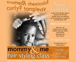 Mommy and Me Hair Styling Class